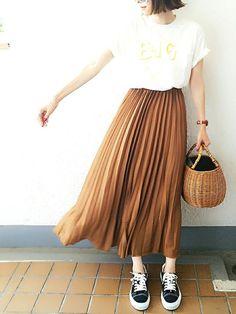 去年のGUのスカートです             Instagramkomasan.1106