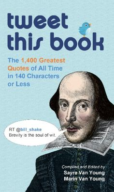 THE TWITTER ANSWER TO YOUR FAVORITE QUOTATION DICTIONARY, WITH TWEETABLE-LENGTH QUOTES THAT ARE CLEVER, COOL, SMART, TOUCHING, WISE, FUNNY, AND MOREBrevity may be the soul of wit, but 140 characters is the absolute limit on Twitter! Luckily, Tweet This Book allows you to spice up their microblog with the greatest quotes of all time. Each one is not only brief it is officially tweetable. The quick, punchy quotes in this wonderfully diverse collection come from all circles and include…