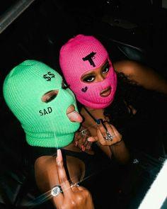 Girl Gang Aesthetic, Badass Aesthetic, Black Girl Aesthetic, Badass Halloween Costumes, Halloween Outfits, Girl Halloween, Photographie Glamour Vintage, Rauch Fotografie, Fille Gangsta