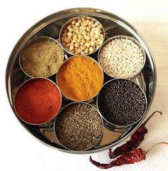 Masala Box 7 authentic New Steel Masala Dabba Indian Spice  Spice Box Storage