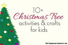 Christmas+Tree+Activities,+Crafts,+and+Ideas+for+Kids