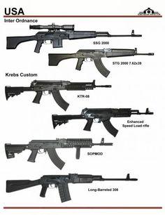 США: Inter Ordnance SSG-2000, STG-2000, Krebs ...