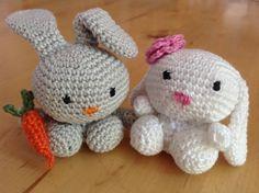 Konijntjes / des petits lapins.