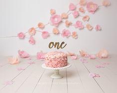 CakeSmashPhotography – Page 2 1st Birthday Cake For Girls, 1st Birthday Photoshoot, Pink Birthday Cakes, 1st Birthday Pictures, 1st Birthday Cake Smash, First Birthday Decorations, Princess Smash Cakes, Baby Cake Smash, Cake Smash Photos