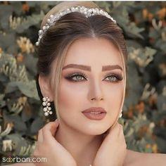 Soft Bridal Makeup, Wedding Makeup For Brown Eyes, Bride Makeup, Wedding Hair And Makeup, Girls Makeup, Makeup Tutorial Eyeliner, Elegant Makeup, Beautiful Girl Makeup, Makeup Makeover