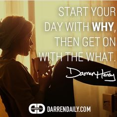 """Happy Monday! Today, I want you to start off your week with excellence by doing this:  Action for today: So let's get straight to the WHY by answering these questions to yourself: - Why did you show up today? - Why do you continue to strive for excellence? - Why are you at this place in your life right now? - Why do you want to get better? - Why do you want success?  And remember, don't give the answers you """"should"""" give. Give the ones that ring most true in your heart."""