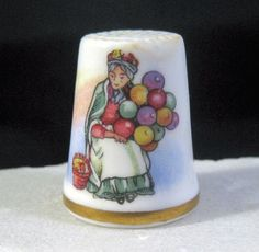 Royal Doulton Balloon Lady Thimble