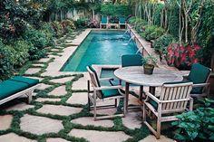 Piscinas CHILL OUT. #Ideas TOP para un #verano de 10. #decoracion #exteriores #tips