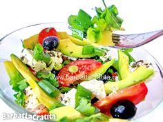 avocado salad Avocado Salad, Cobb Salad, Cooking, Food, Salads, Baking Center, Kochen, Avocado Salads, Hoods