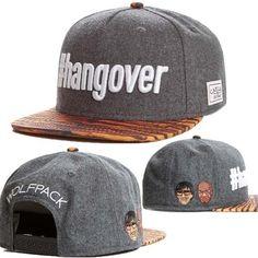7251cadba53 Brand Comb amp Scissors C amp S  hangover Cap gray Woolen cloth snapback hat  for