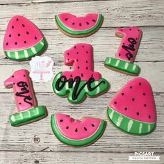 Yoghurt cake with Companion - HQ Recipes First Birthday Party Themes, First Birthday Decorations, Girl First Birthday, Birthday Ideas, Birthday Photos, Watermelon Cookies, Watermelon Decor, Watermelon Birthday Parties, Pear Cake