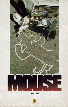 """Girl """"Mouse"""" ad, 1997."""