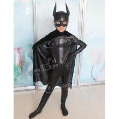 >> Click to Buy << Free Shipping DHL Cheap Wholesale Cool Batman Black Lycra Super Hero Kids Costume Halloween Costume #Affiliate