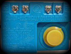 Bachmann Model 6605 Hobby Transformer (Blue) #Bachmann