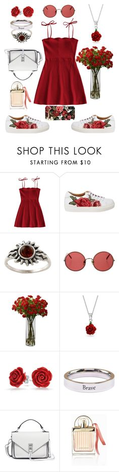 """""""Untitled #178"""" by emmely201 ❤ liked on Polyvore featuring Sunday Somewhere, Bling Jewelry, Pink Box, Rebecca Minkoff, Chloé and iDeal of Sweden"""