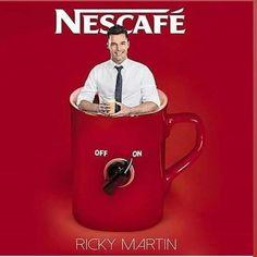 Ricky Martin, Nescafe, Baseball Cards, Mugs, Singers, Tumblers, Mug, Cups
