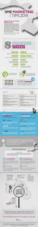 SME Marketing Tips 2014 #infographic #SME #Business #Marketing