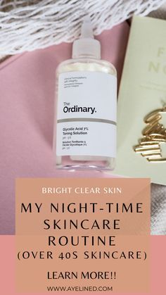 Looking For A Night Time Skincare Routine To Try My Evening