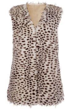 12 Faux Fur Jackets to Keep You Warm This Season #Choies #animal #faux #fur #Vest