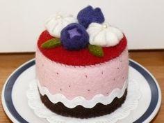 beautiful felt cake