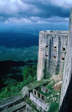 The mammoth La Citadelle of Haiti. The fort was built by the last king of Haiti, Henri Christophe and is the 8th man-made Wonder of the Worl...