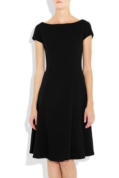 Ralph Lauren Collection  Erica stretch-wool crepe dress  Was $1,900   Now $1,330