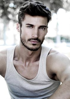 Hairstyle Men// hair cut Rugged Grooming | Men's Hairstyles ♥ who the heck is this scrumptious man?