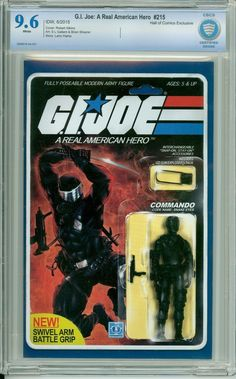 IDW - G.I. Joe #215 (2015) - Snake Eyes AF Variant - CBCS 9.6