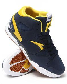 Reebok   Classic Jam Ath Navy Sneakers. Get it at DrJays.com