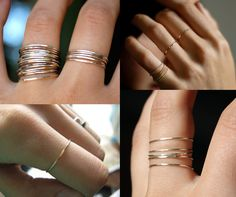 delicate little rings