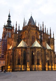 Within the grounds of Prague Castle, kids can explore Gothic cathedrals, historic monuments and picturesque gardens.