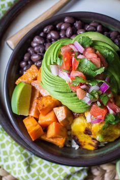 Vegan Cuban Bowl - o