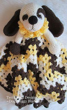 puppy huggy blanket