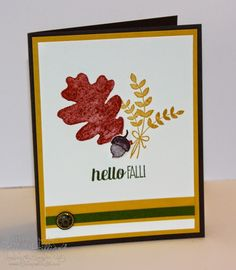 Saturday, August 16, 2014 Jill's Card Creations:  For All Things Wood, Color Me Autumn dsp