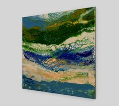 """Wood+Print+""""Into+the+Wild""""+by+MJ's+Crafted+Concepts#wallart#artwork#products#abstract#love#mjscraftedconcepts#"""