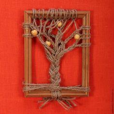 Панно «Осенние деревья»