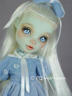 Frankie Stein OOAK doll MH - web