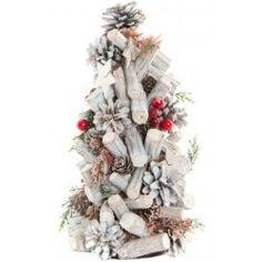 Karácsonyfa asztali dekoráció 17x27cm Kari, Christmas Wreaths, Christmas Tree, Holiday Decor, Home Decor, Teal Christmas Tree, Decoration Home, Room Decor, Xmas Trees