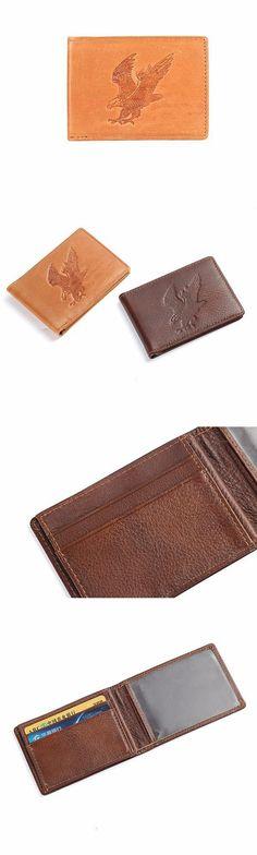 Hot Sale Slim Driver License Holder for Men Male Genuine Leather ID card Case Document Holder Vintage style