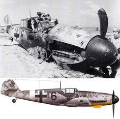 The Messerschmitt Bf 109G-2/R2 of Herbert Prior of 2(H)./Aufklarungsgruppe 14 is being inspected by british soldiers at Qued-Zarga in Tunisia, April 1943. On 7 April 1943, Herbert Prior of 2.(H)/14 took off in this aircraft on his 101st war mission, carrying out a tactical reconnaissance mission when he was shot down by anti-aircraft fire and captured by Allied forces