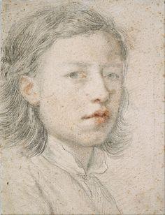 Anton Raphael Mengs - Youthful Self-Portrait - Google Art Project - Anton Raphael Mengs - Wikipedia, la enciclopedia libre
