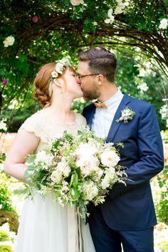 Ariel + Sebastiaan: Backyard Garden Wedding, Weaverville, NC — Jennifer Callahan Photography