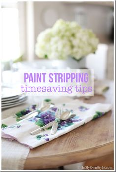 Paint stripping tips and tricks by In My Own Style