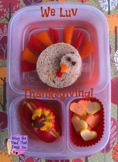 Thanksgiving Easy Lunch box