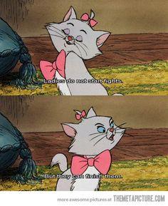 Best line in a Disney movie…Love it!