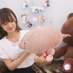 Hải cẩu bông cute phô mai que đê mọi người ơi   Size 40cm - 240k  0932793907  416/15/85A Dương Quảng Hàm P.5 Gò Vấp #hcm #gaubong #cute #govap