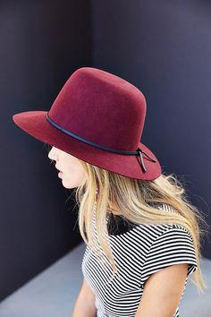 Brixton X UO Clint Felt Panama Hat