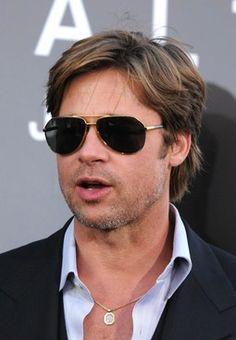 b3a1e07196e8 16 Best Brad Pitt Sunglasses images