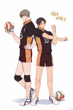 Image result for kuroko no basket x haikyuu