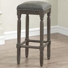"Jeanlouis Backless 26"" Counter Stool"